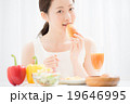 朝食イメージ 女性 19646995