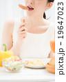 朝食イメージ 女性 19647023