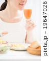 朝食イメージ 女性 19647026