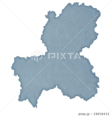 岐阜県地図 19658433