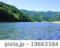 日本一の清流 仁淀川の黒瀬釣場 19663384