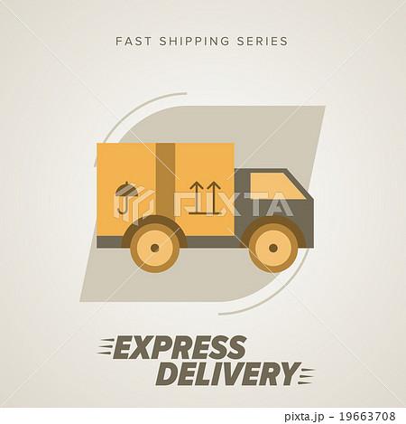 Express Delivery Symbols. Vector illustration. 19663708