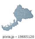 福井県 地図 福井県地図のイラスト 19665120