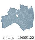 福島県地図 19665122