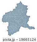 群馬県地図 19665124