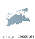 香川県地図 19665164