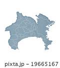 神奈川県地図 19665167