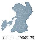熊本県地図 19665175