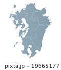 九州地図 19665177