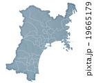 宮城県地図 19665179