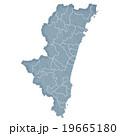 宮崎県地図 19665180