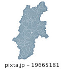 長野県地図 19665181
