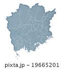 岡山県地図 19665201