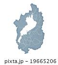 滋賀県地図 19665206