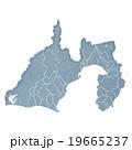 静岡県地図 19665237