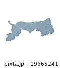 鳥取県地図 19665241