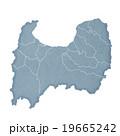 富山県地図 19665242