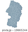 山形県地図 19665244