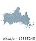 山口県地図 19665245