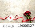 薔薇 花束 メッセージカードの写真 19666327