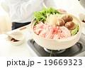 鍋 鍋料理 料理の写真 19669323