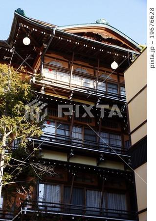 渋温泉(大湯組)千と千尋の神隠しのモデル旅館 19676628
