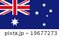 オーストラリアの国旗 19677273