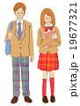 男女 学生 19677321