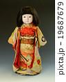 市松人形 19687679
