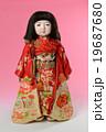 市松人形 19687680