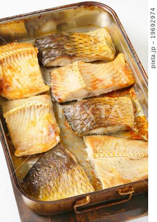 Oven baked carp filletsの写真素材 [19692974] - PIXTA