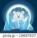 Illustration of cute Polar Bear 19697637