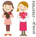 バレンタインデー 19697804