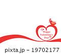バレンタイン バレンタインデー バレンタインカードのイラスト 19702177