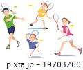 テニス家族 19703260