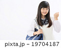 中学生 女子高生 女の子の写真 19704187