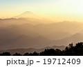 富士山 靄 富士の写真 19712409