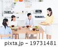 家族 食卓 食事の写真 19731481