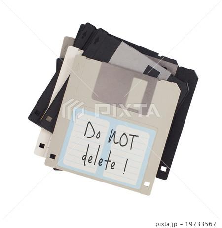 Floppy disk, data storage supportの写真素材 [19733567] - PIXTA