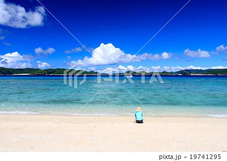 阿嘉島 ニシ浜 19741295