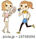 スポーツ 女子 19746094