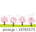 桜 桜並木 木のイラスト 19765573