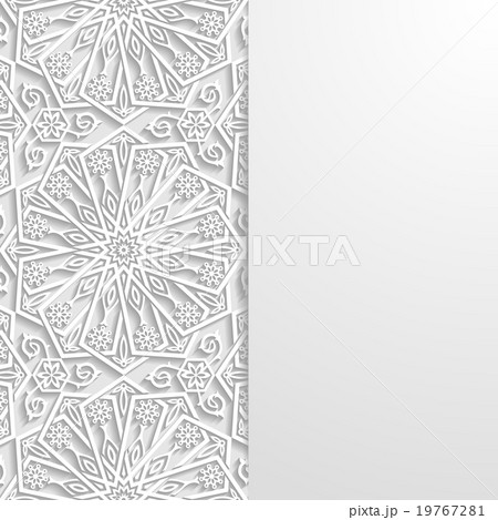 Abstract background with traditional ornamentのイラスト素材 [19767281] - PIXTA