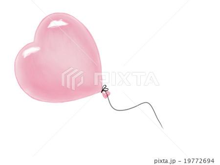 Heart shape air balloon 19772694