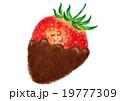 苺 チョコレート チョコのイラスト 19777309