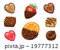 チョコレート スイーツ お菓子のイラスト 19777312
