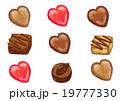 チョコレート スイーツ お菓子のイラスト 19777330