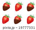 チョコレート チョコ 苺チョコのイラスト 19777331