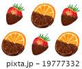 チョコレート チョコ 苺のイラスト 19777332