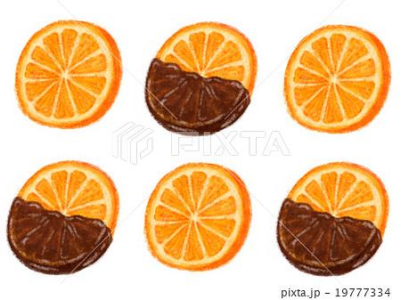 オレンジスライスチョコ 19777334